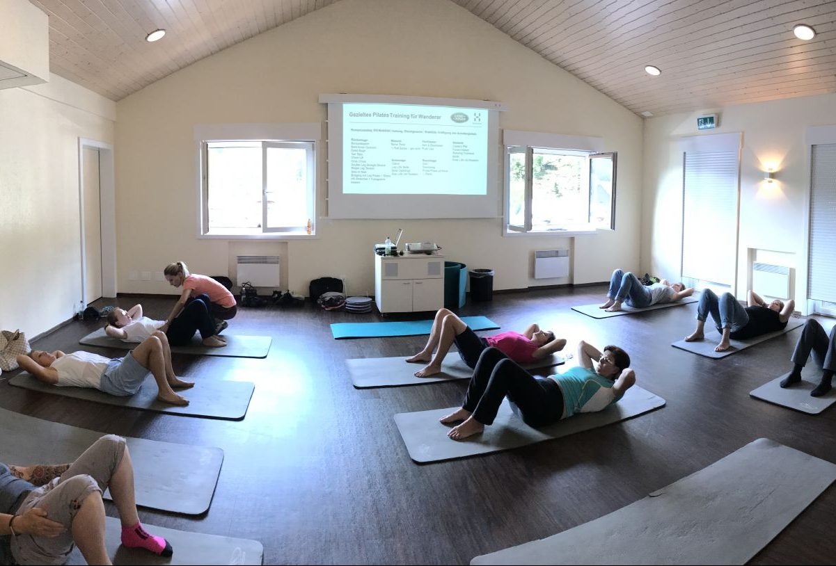 Haglöfs Workshop: Pilates für Wanderer.