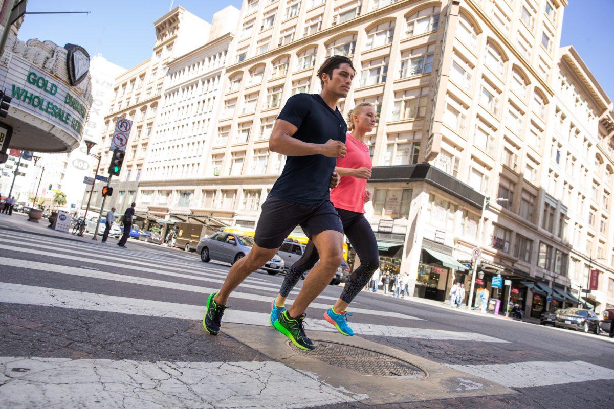 Schuhe einlaufen marathon