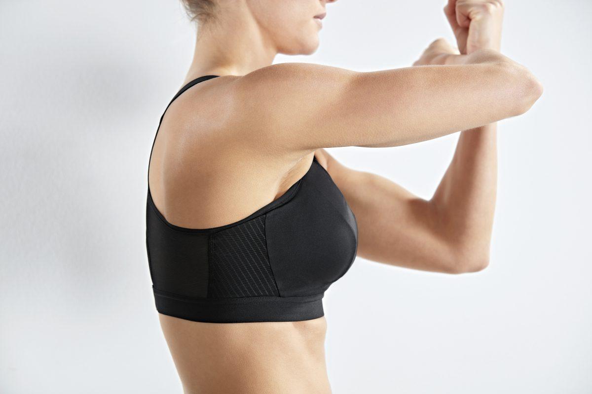 Unabhängige Cups bieten optimalen Halt und Spacer Mesh sorgt für Atmungsaktivität