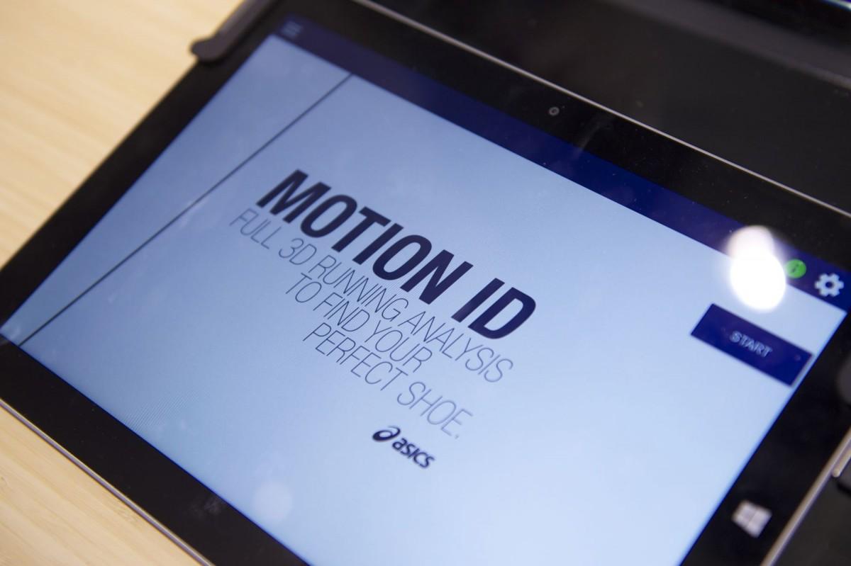 Motion ID der neue Schuhauswahl-Service