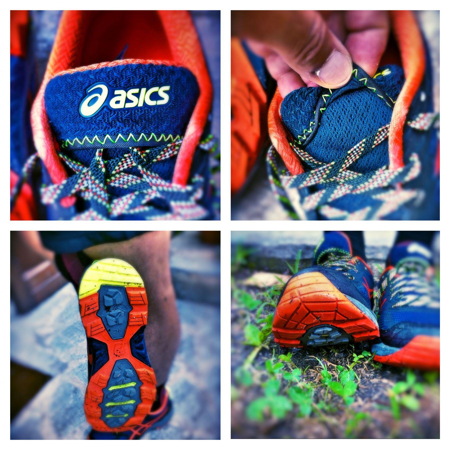 Zahlreiche Technologien und Details zeichnen den Schuh aus wie die Lace-Garage oder die Rock-Protectin-Plate