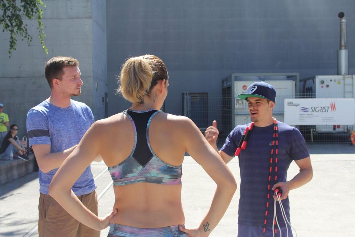 Kurze Einführung ins Thema Rope Skipping
