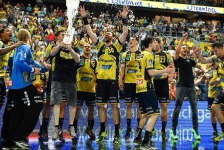 Die Rhein-Neckar Löwen sind zum zweiten Mal in Folge Meister