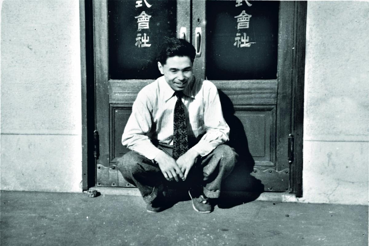 Kihachiro Onitsuka in jungen Jahren