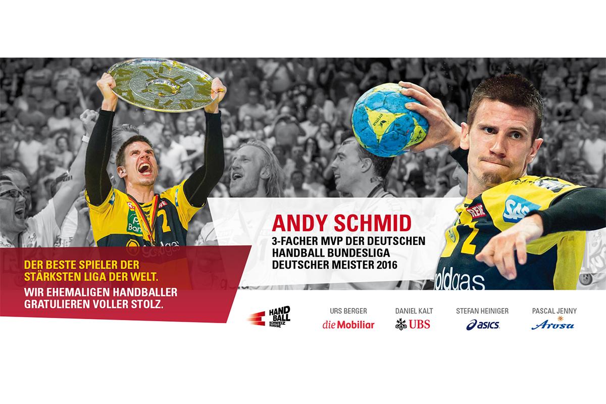 Plakat Andy Schmid