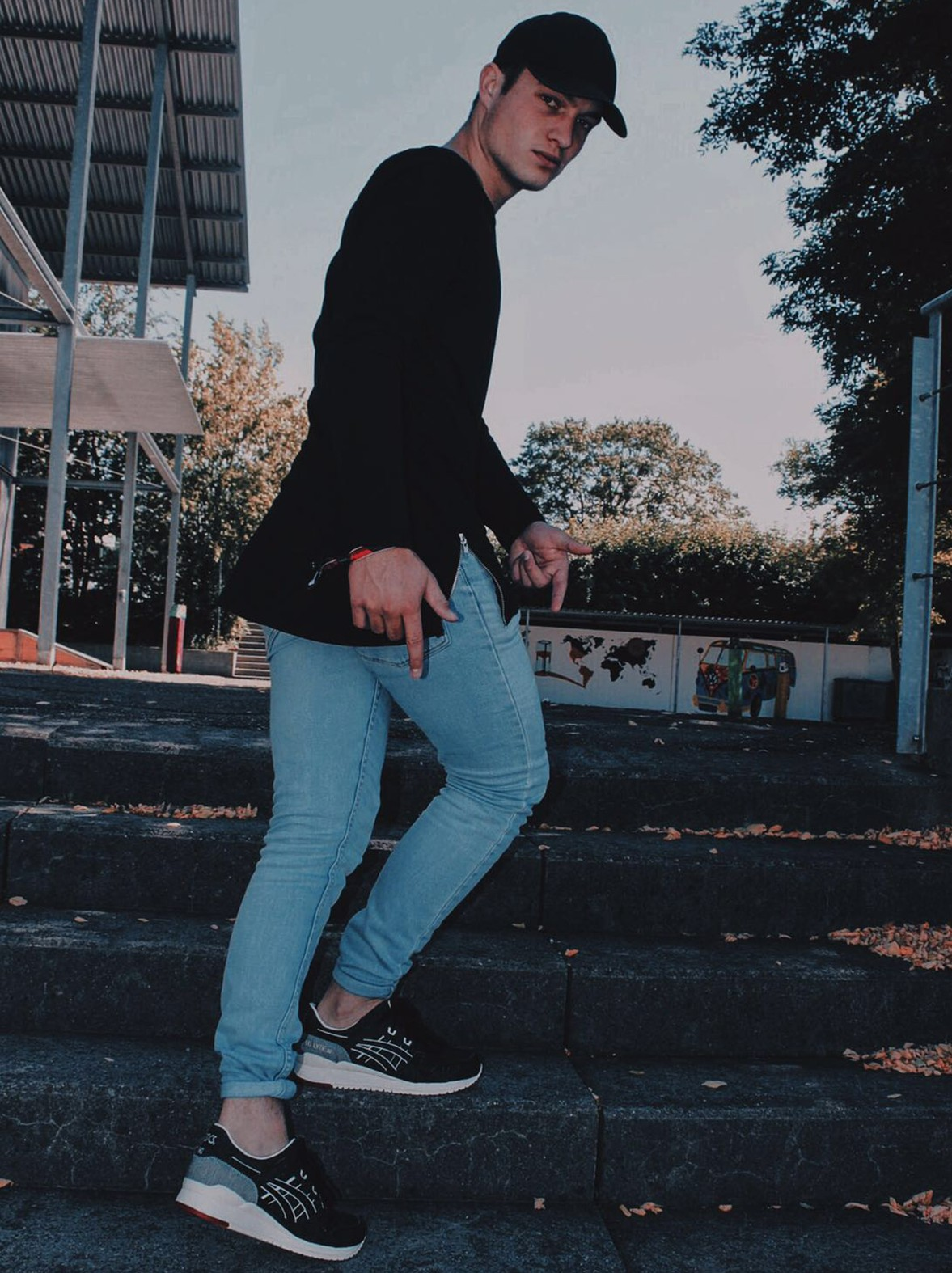 Fashion Blogger Yannis Eberhard
