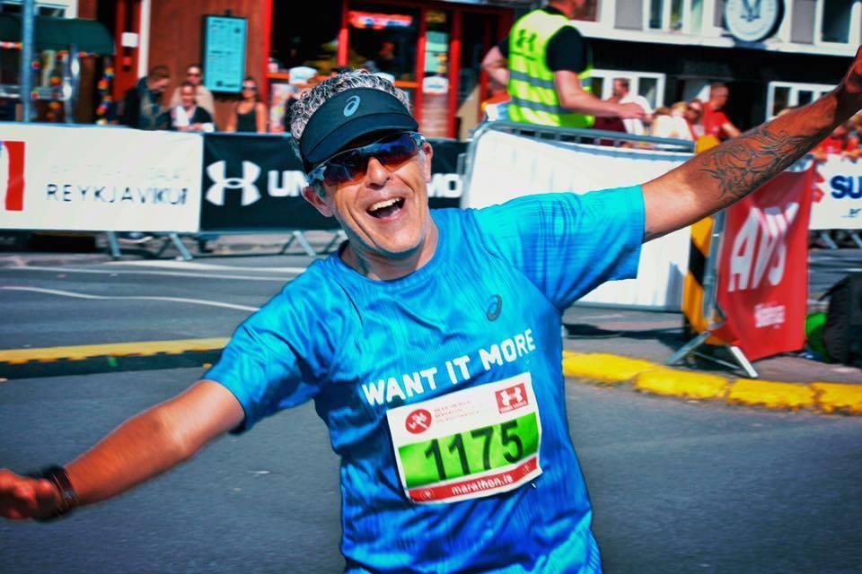 Gianni De Flaviis lief ein regelmässiges Rennen da er persönlicher Pacemaker für unerfahrenere Läufer war