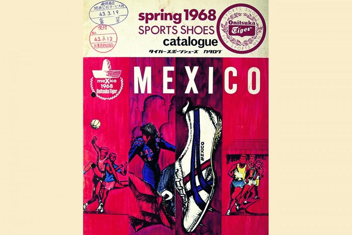 Katalog von 1968 mit dem Limber Up, der Vorlage für den legendären Mexico 66